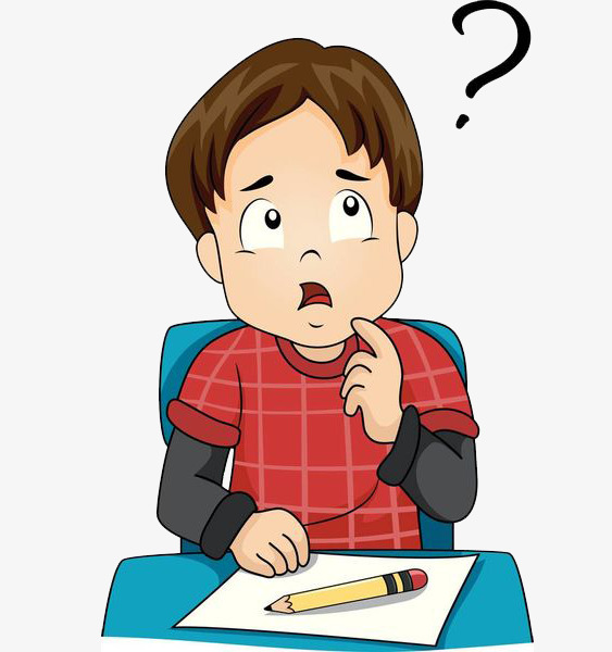 Boys clipart thinking. A boy the lecture