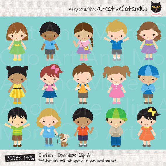 Kids children boy girl. Boys clipart toddler