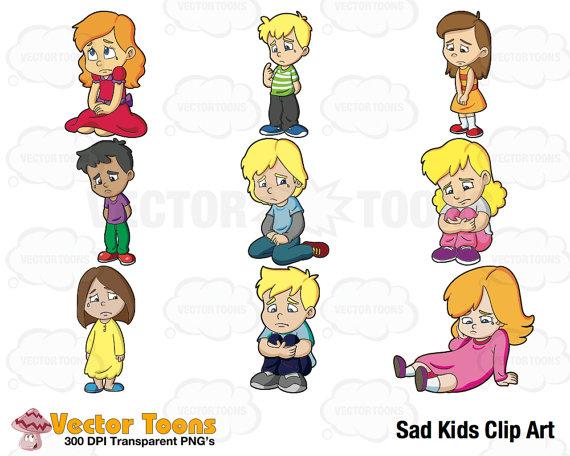 Boys clipart upset. Sad kids clip art