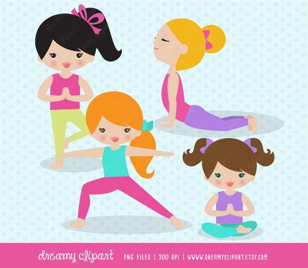 Boys clipart yoga. Kids clip art images