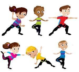 Boys clipart yoga. Kids clip art pinterest