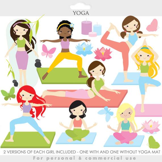 Boys clipart yoga. Clip art girl gals