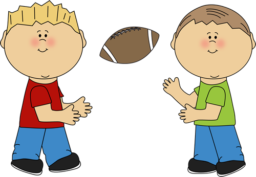 Clipart football family. Kids clip art images