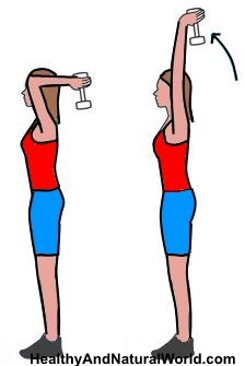 Bra clipart bent arm.  simple exercises to