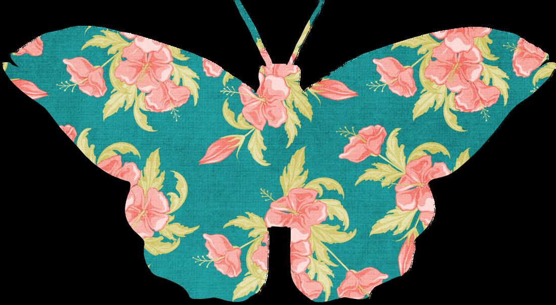 Swimsuit clipart clip art. Butterflies artsy bee digital