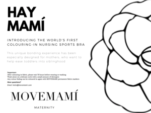 Hay mami in crossover. Bra clipart colouring