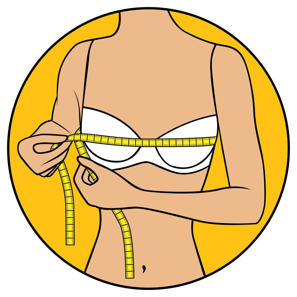 Bra clipart straight arm.  signs your fits