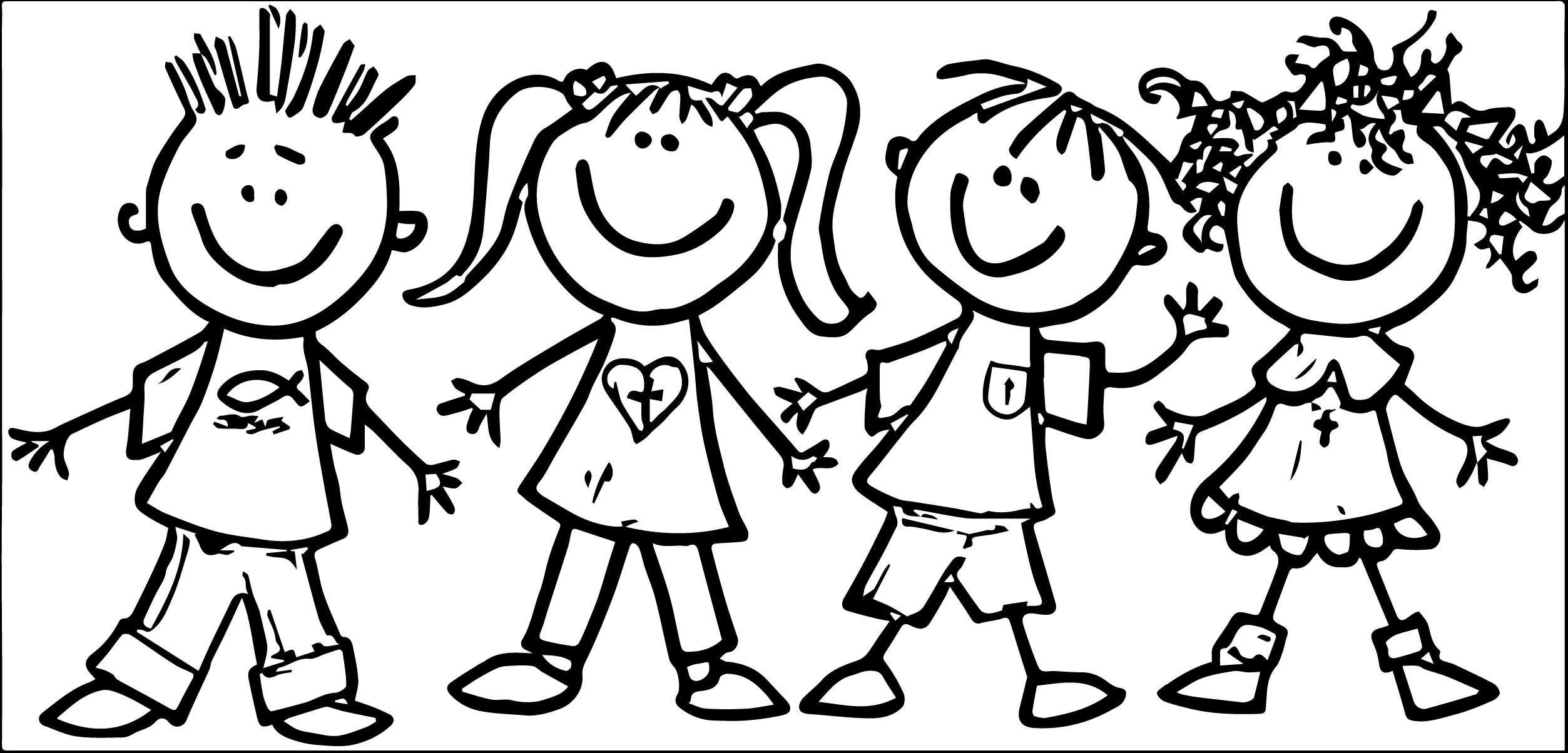 Braces clipart black and white. Kids drawing at getdrawings