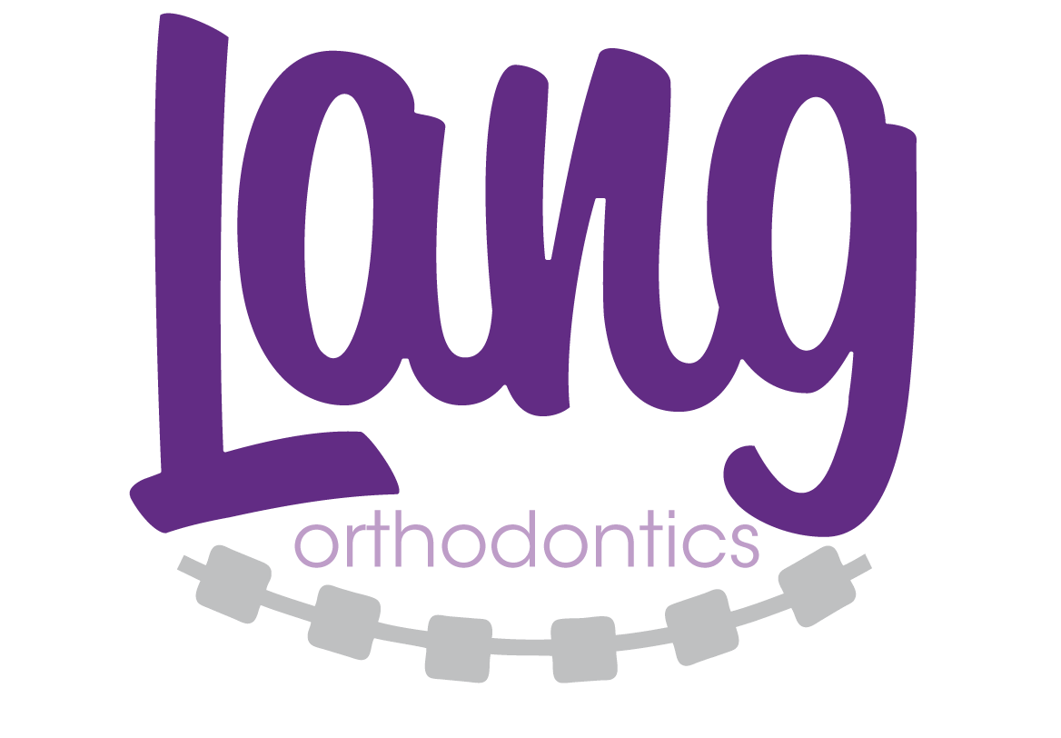 Playing sports with lang. Braces clipart brand new
