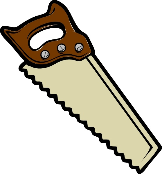 carpentry clipart hammer saw