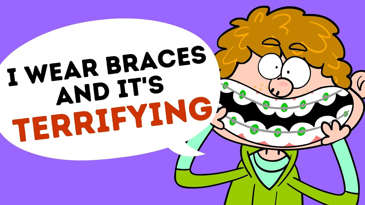 I wear and it. Braces clipart horrible