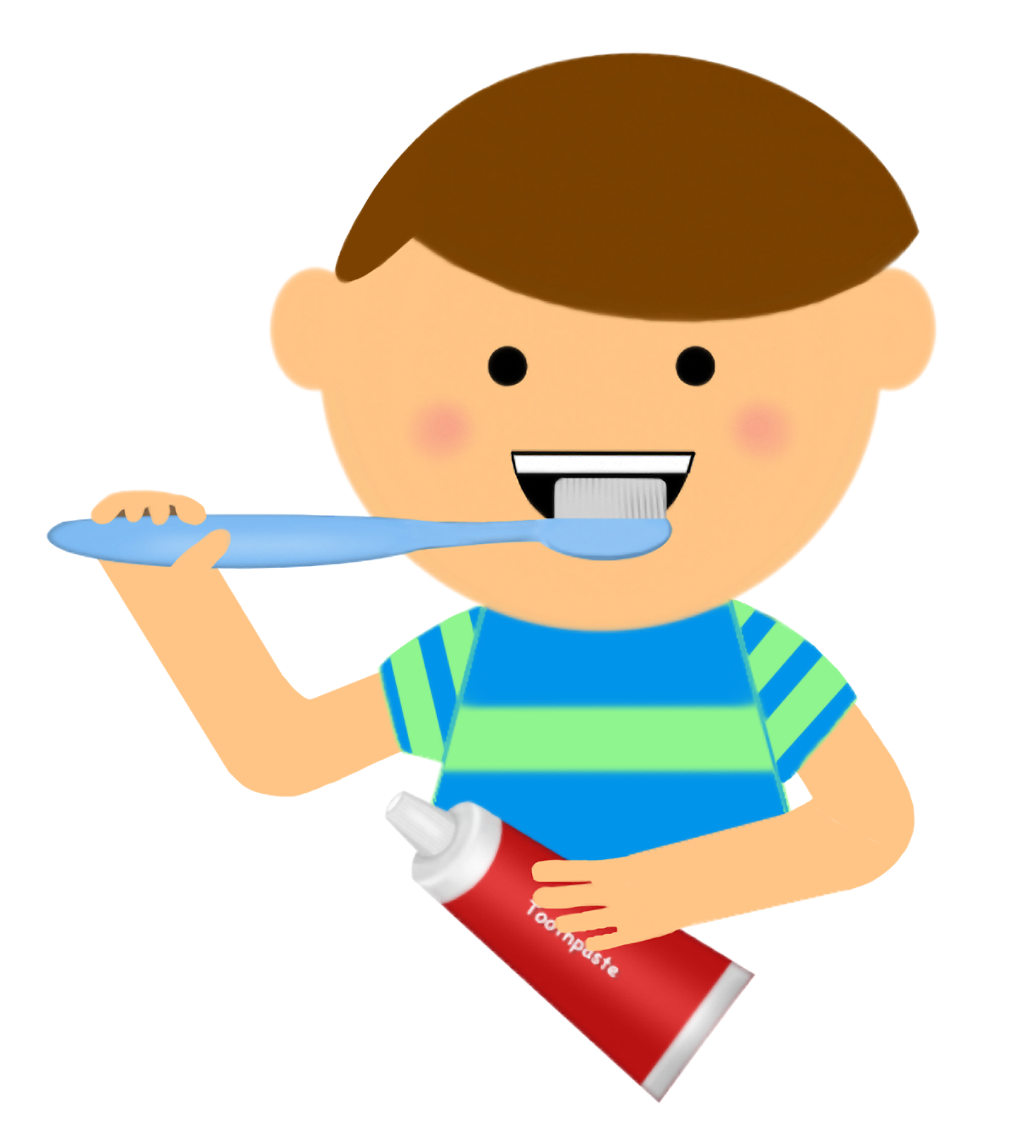 Person clipart printable. Brushing teeth pictures cliparts