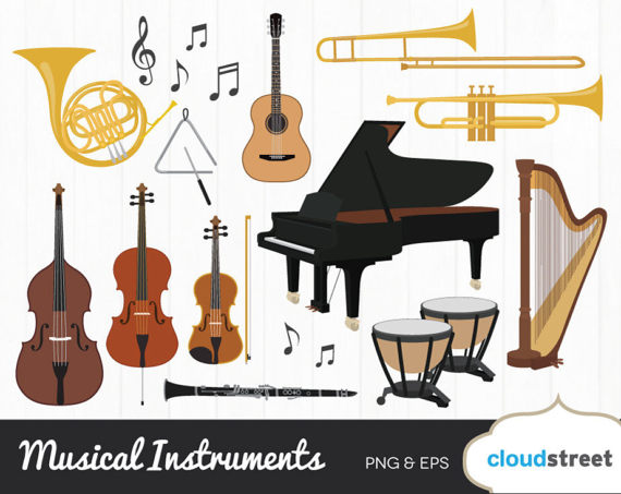 Buy get free musical. Instruments clipart