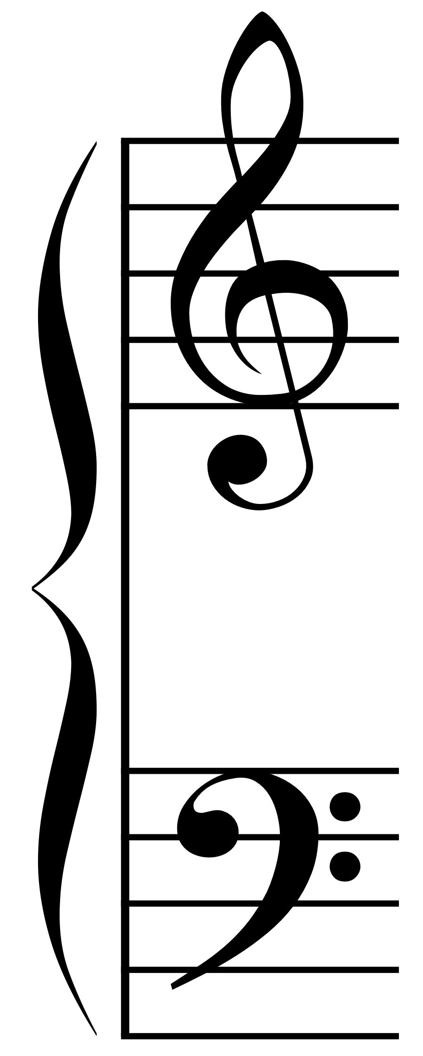 Braces clipart music. Observations about brace design