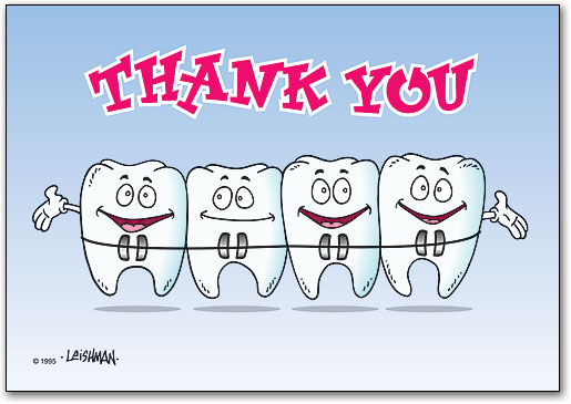 Thank you teeth with. Braces clipart orthodontist