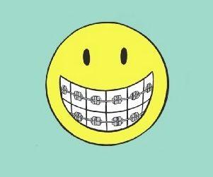 Clip art library . Braces clipart smile