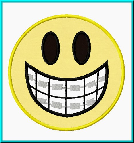 With best panda free. Braces clipart smile