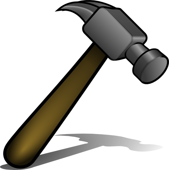 Free vector download for. Clipart hammer carpenter