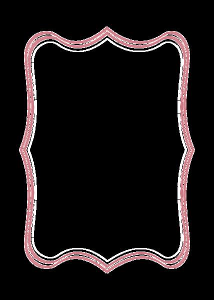 Bracket frame png.  shape clip black