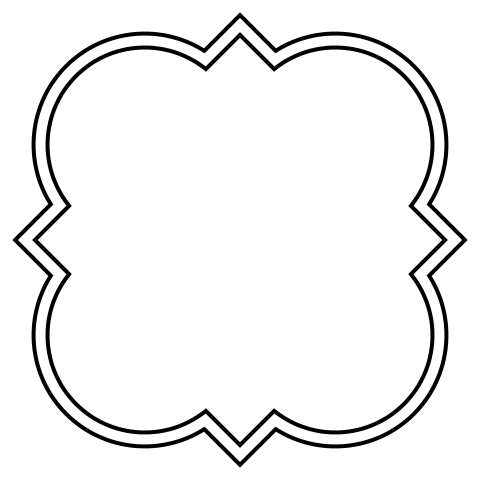 Bracket frame png. Style identification what s