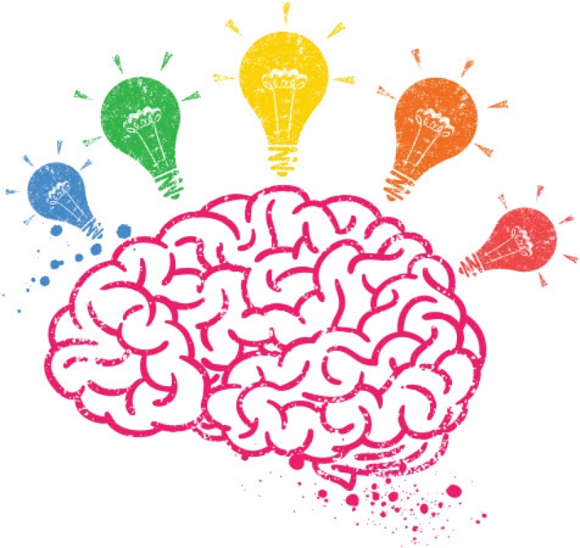 Clipart brain ability. Thinking for kids