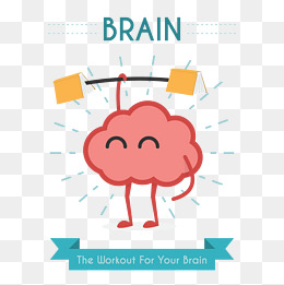 Png vectors psd and. Clipart brain brain power