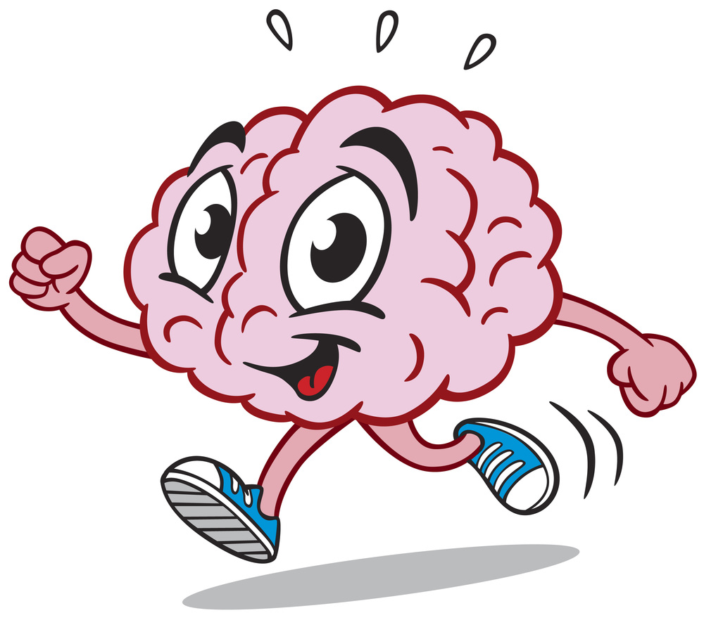 Maintaining advocates for independent. Brain clipart brain power