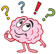 Just thinking by robert. Brain clipart brain power