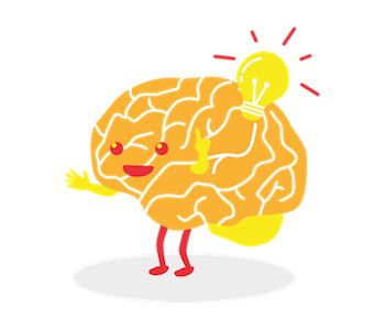 A message from your. Brain clipart brain power