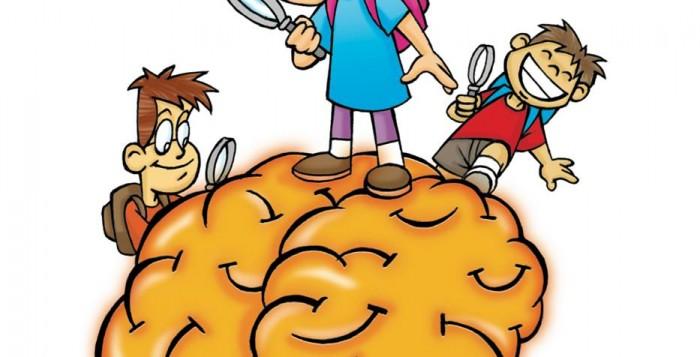 The issue child friendly. Brain clipart brain power