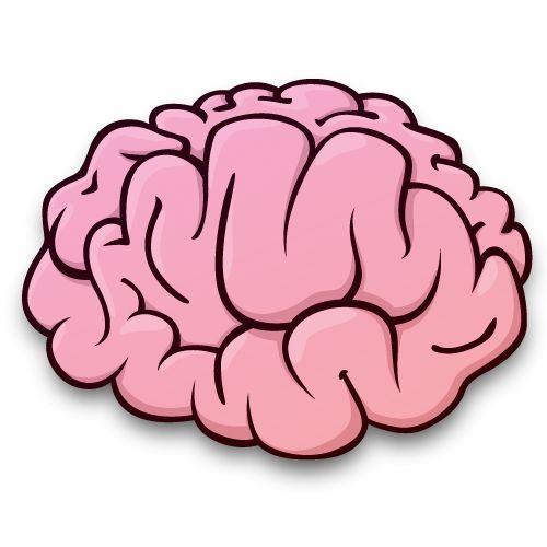 Brain clipart cartoon. Free download clip art
