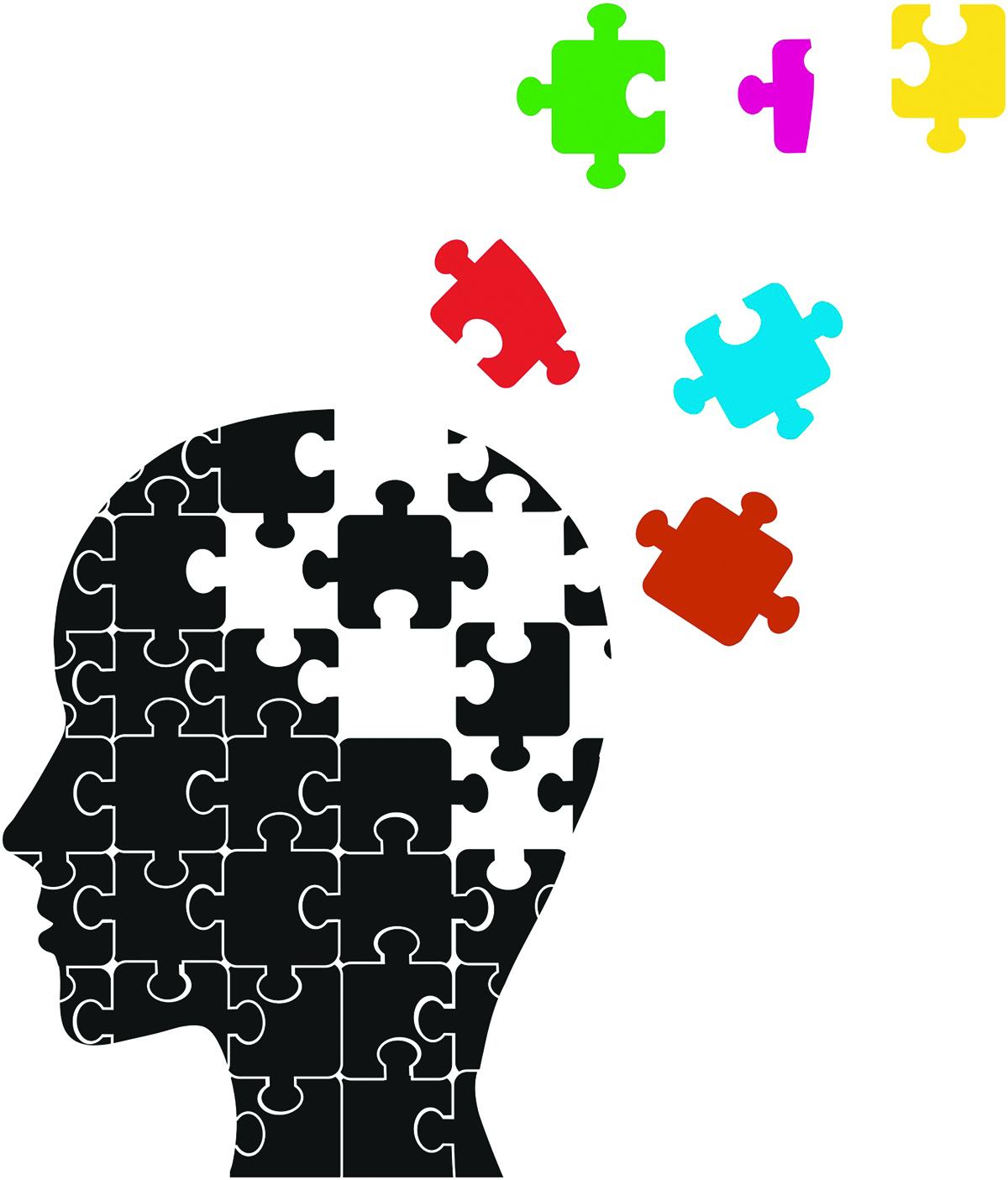 What is mild impairment. Brain clipart cognitive