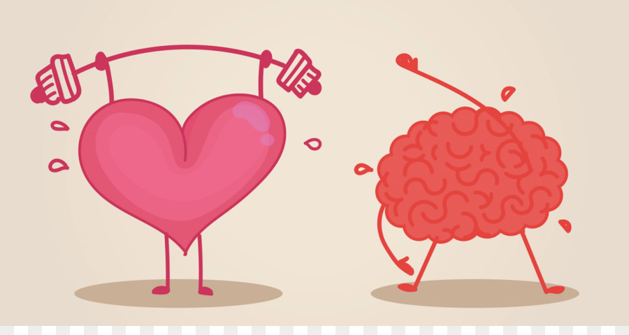 Brain clipart cognitive. Heart physical exercise training