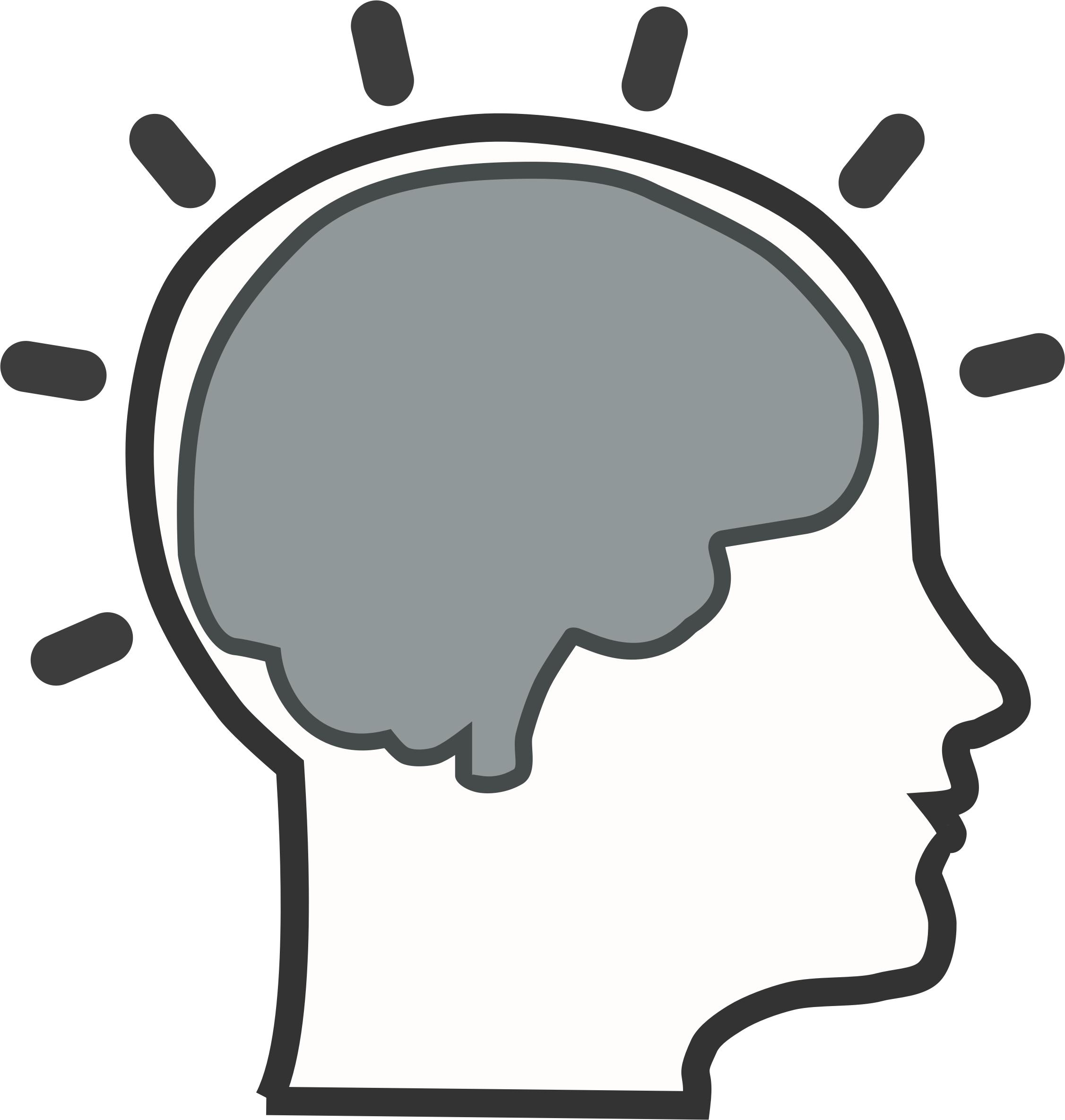 Brain clipart cognitive. Free icons png bra