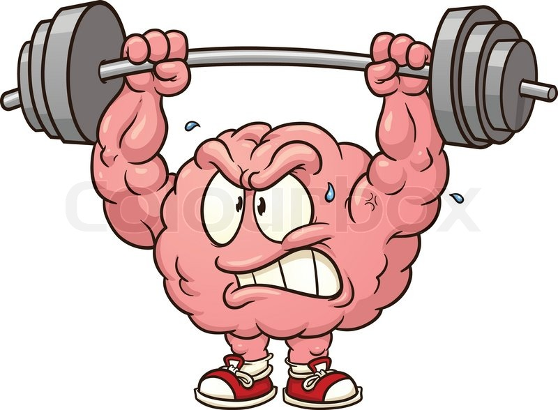 Brain clipart cute. Station