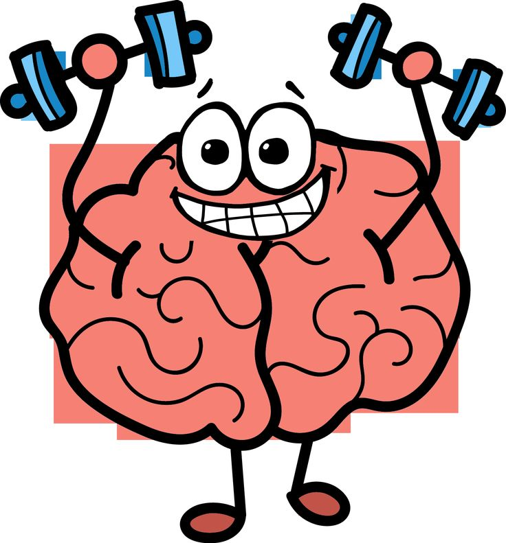collection of growing. Brain clipart cute