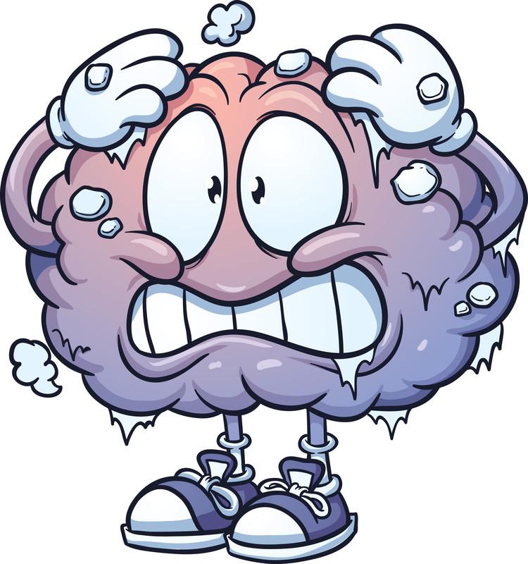 Drawing cartoon at getdrawings. Brain clipart cute