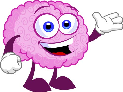 . Brain clipart cute
