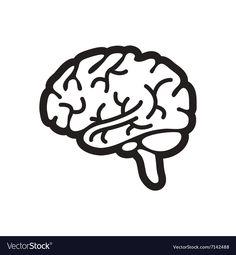 Brain clipart easy, Brain easy Transparent FREE for ...