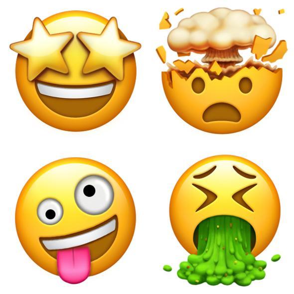 A close reading of. Calm clipart emoji
