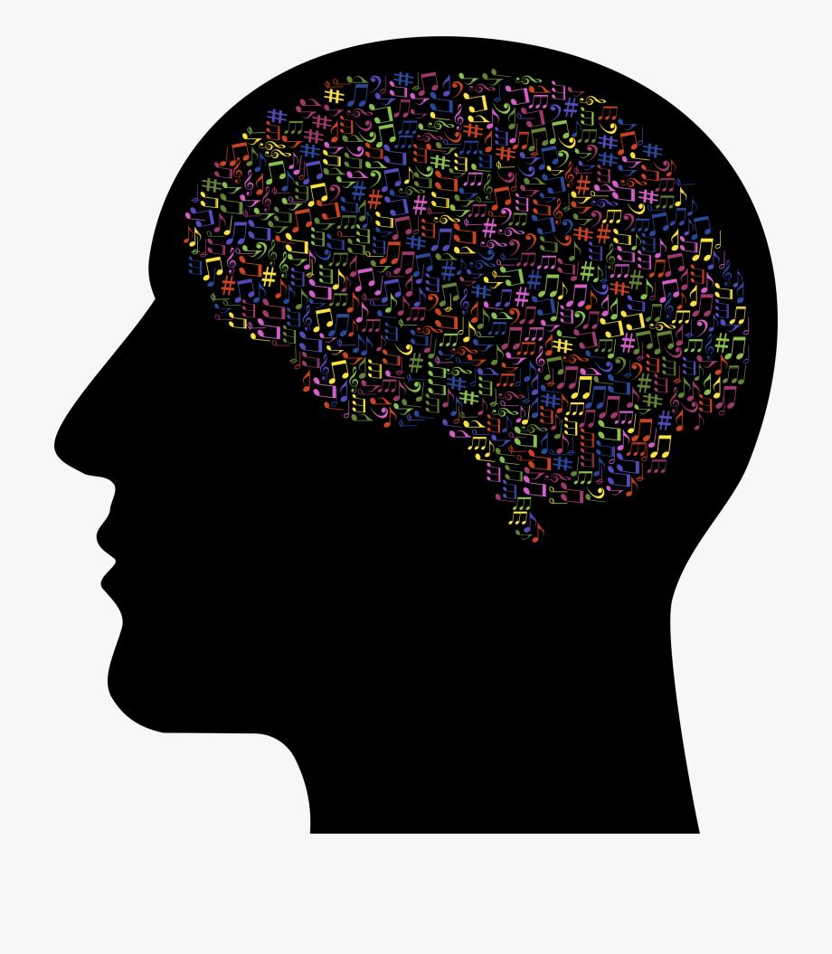 Music free . Brain clipart human brain