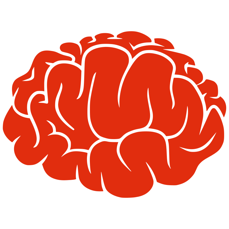 Brain clipart icon. Medium image png