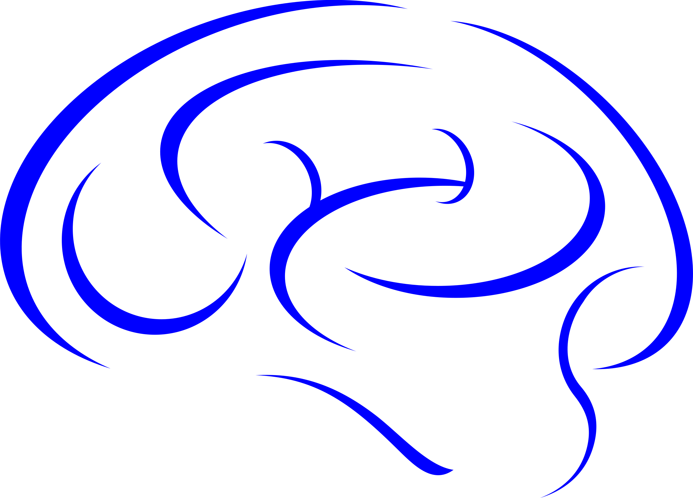 In blue icons png. Brain clipart icon