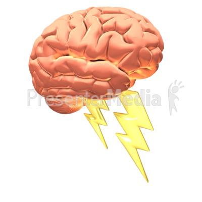 Brain clipart imagination. Power presentation great for