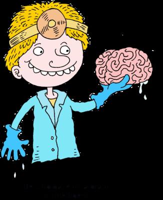 Brain clipart intelligence. Image surgeon he who