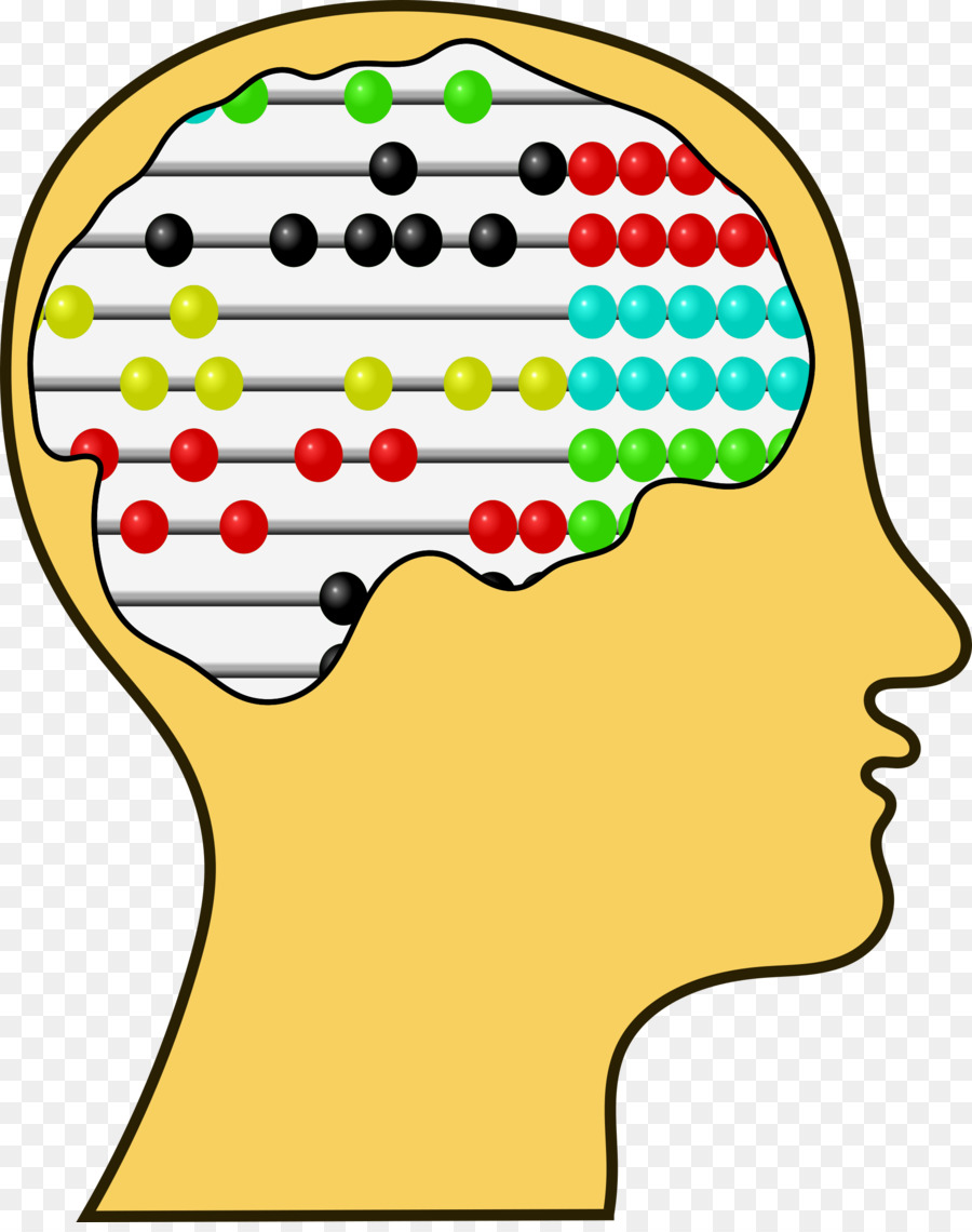 Brain clipart intelligence. Abacus mathematics counting clip