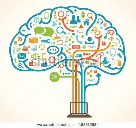 collection of intelligent. Brain clipart intelligence