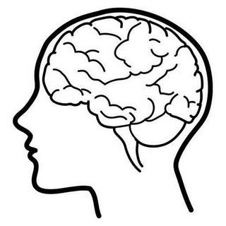 Psychology clipart cool brain. School drawings pinterest