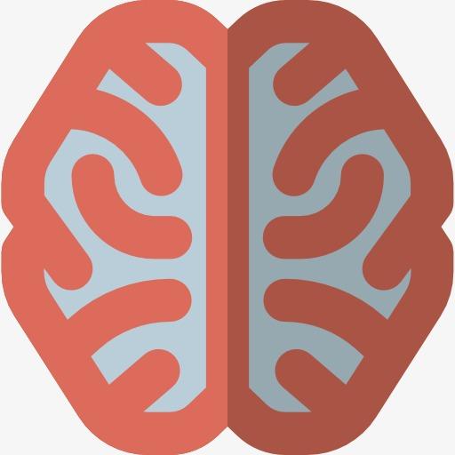 Cartoon brains png image. Brain clipart logo