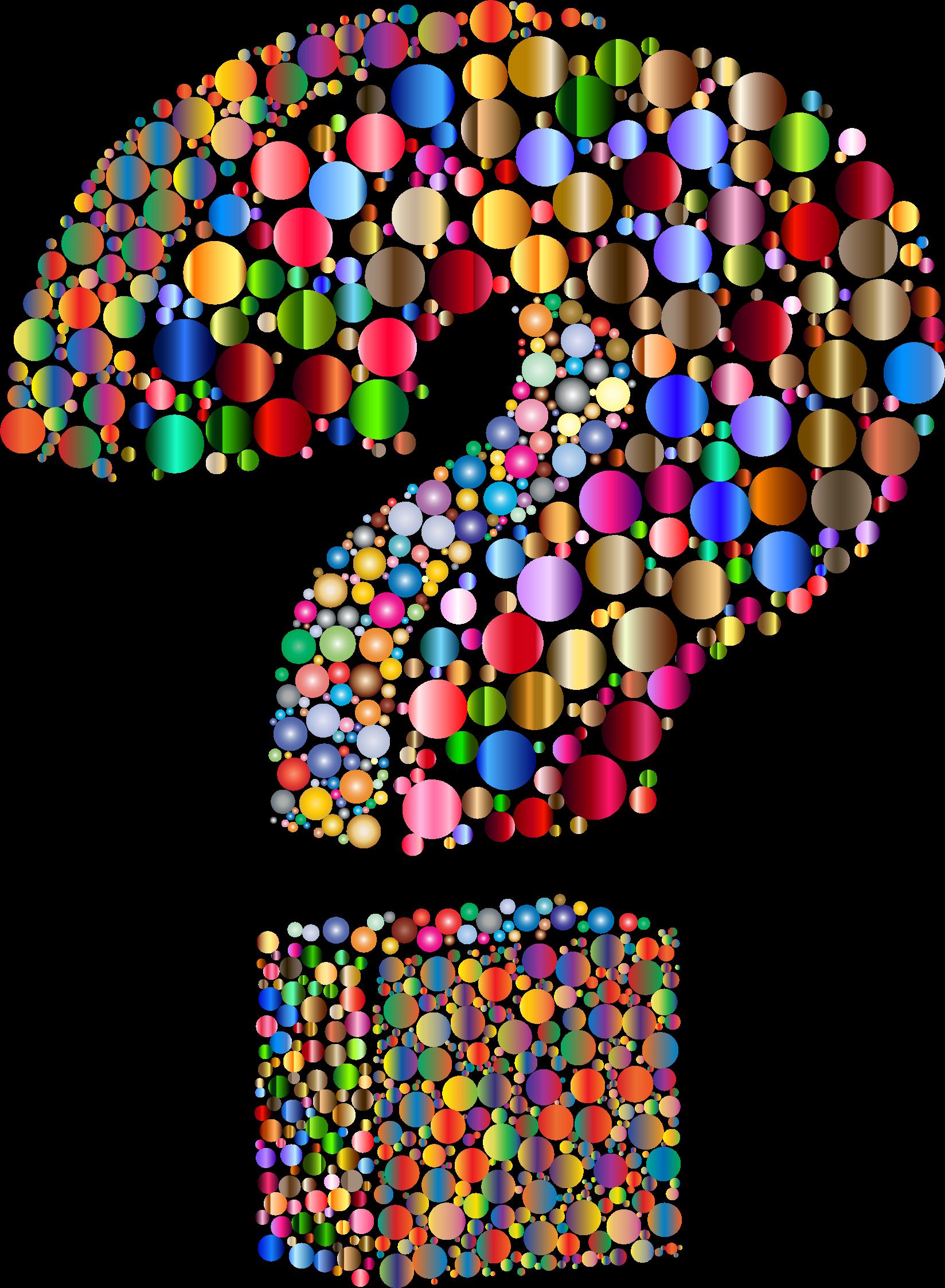 Brain clipart question. Circlular d mark big